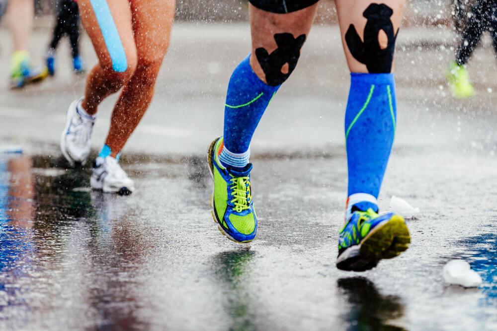 chaussette de compression sportive